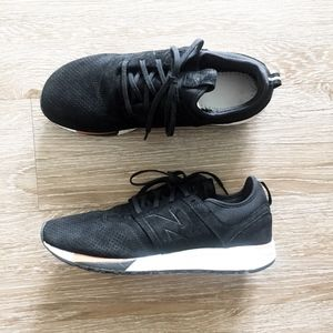 NEW BALANCE 247 luxe 2.0 black white sneaker shoes